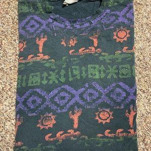Vintage 90s t shirt multicolor promo